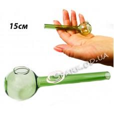 Трубка стеклянная курительная  № 2-2 15см.