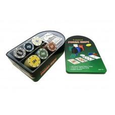 Набор для покера 120 фишек №702-1